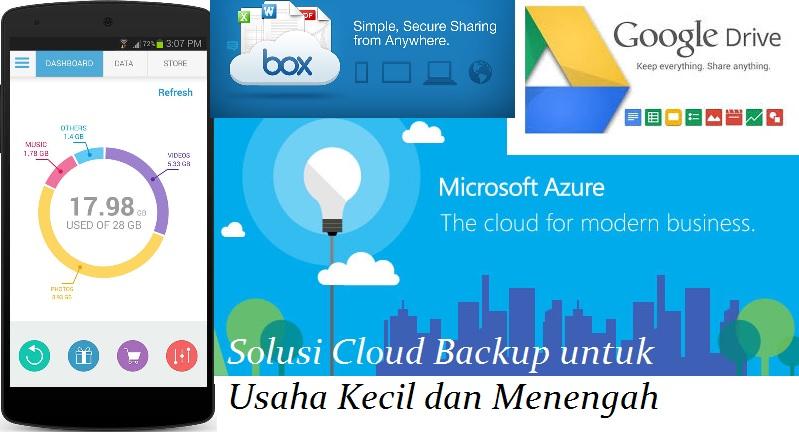 Solusi Cloud Backup untuk Usaha Kecil dan Menengah