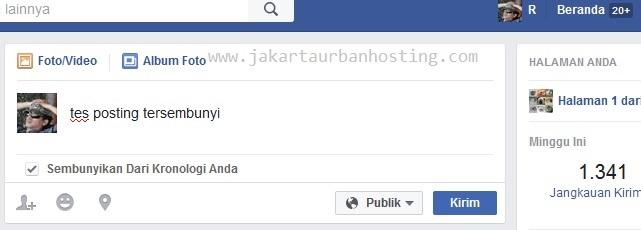 Facebook Uji Coba Posting Tersembunyi dari Timelines