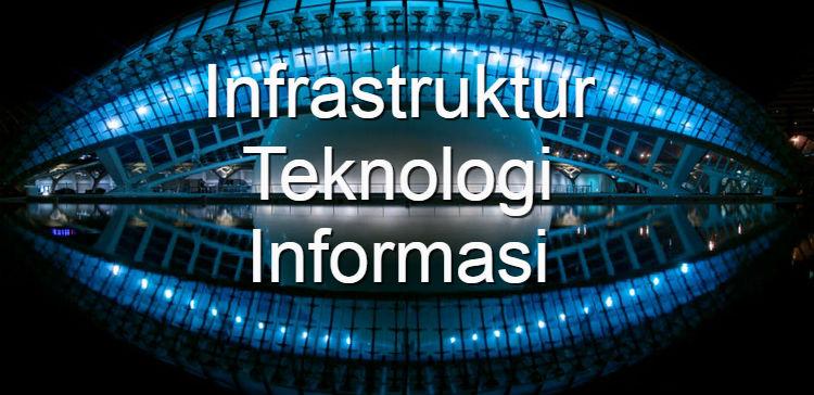 Infrastruktur Teknologi Informasi, Komponen dan Jenisnya
