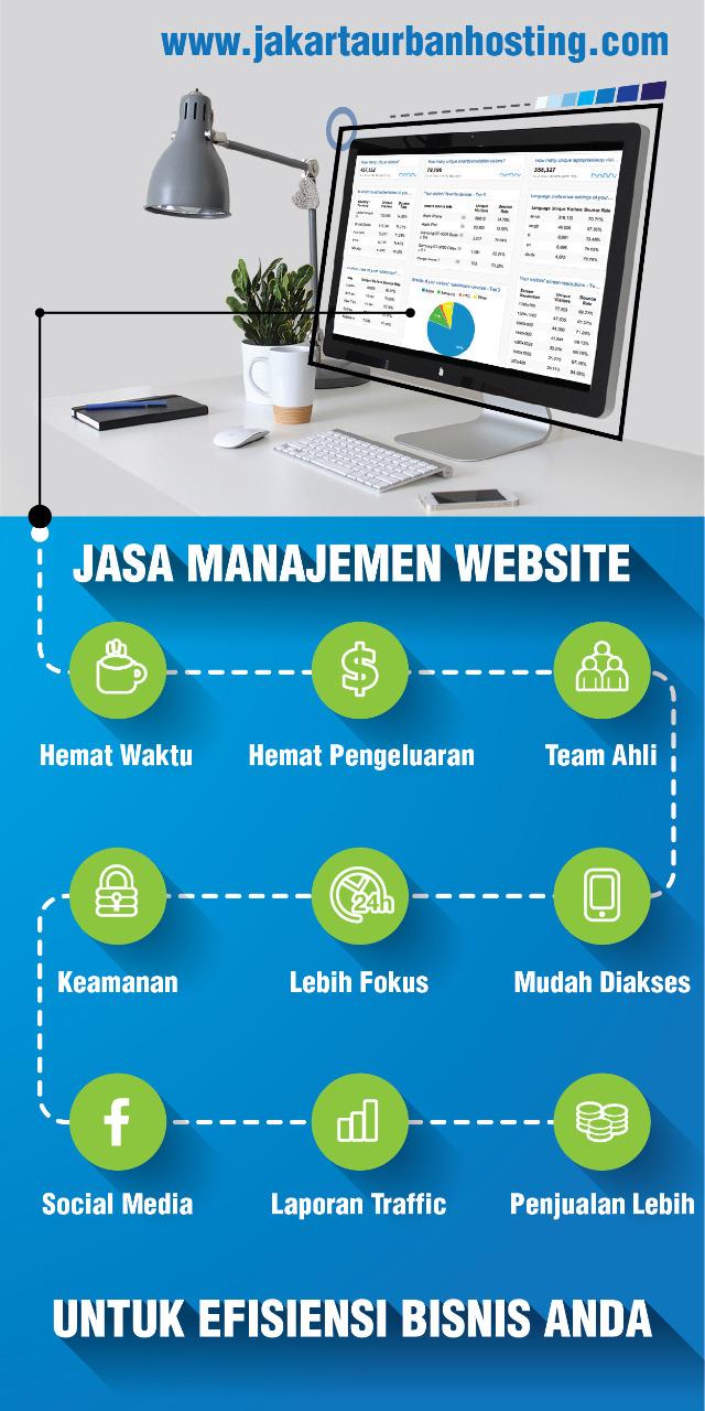 Jasa Manajemen Website