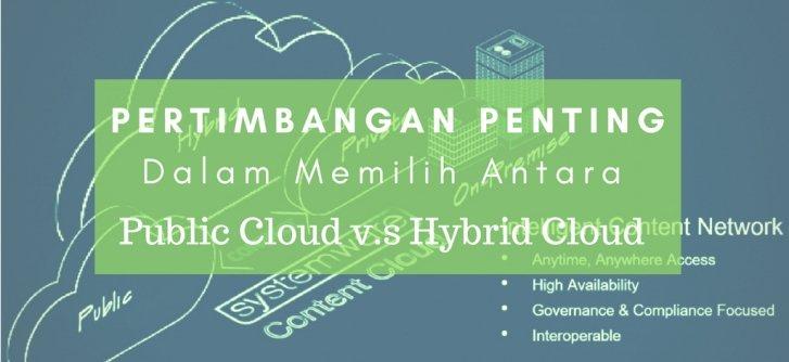 Tips Memilih Layanan Cloud: Antara Public v.s Hybrid Cloud