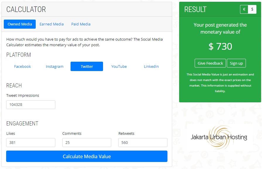 menghitung nilai media sosial sebagai aset digital marketing