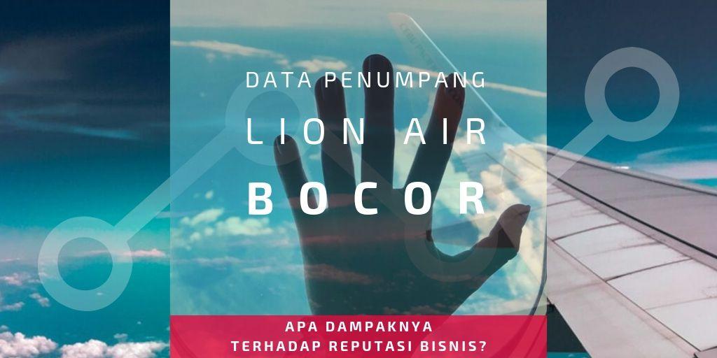 data penumpang lion air bocor