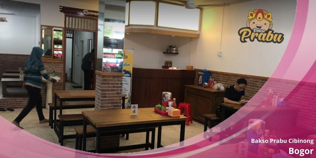 tempat makan bakso enak di Cibinong