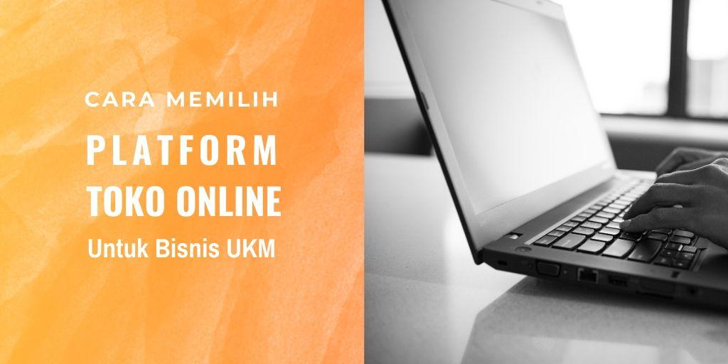 memilih platform website toko online