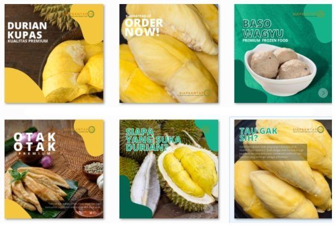 Design Feed IG Siap Santap
